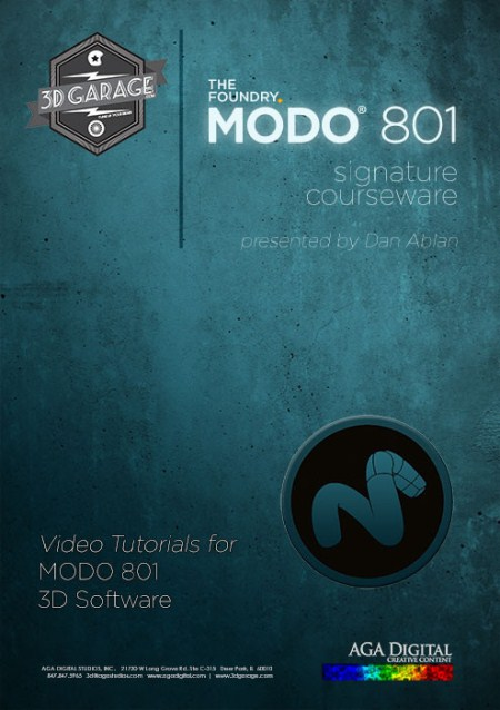 3D Garage - Modo 801 Signature Courseware