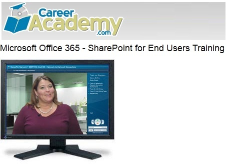 Career Academy - Microsoft Office 365 - SharePoint for End Users Training