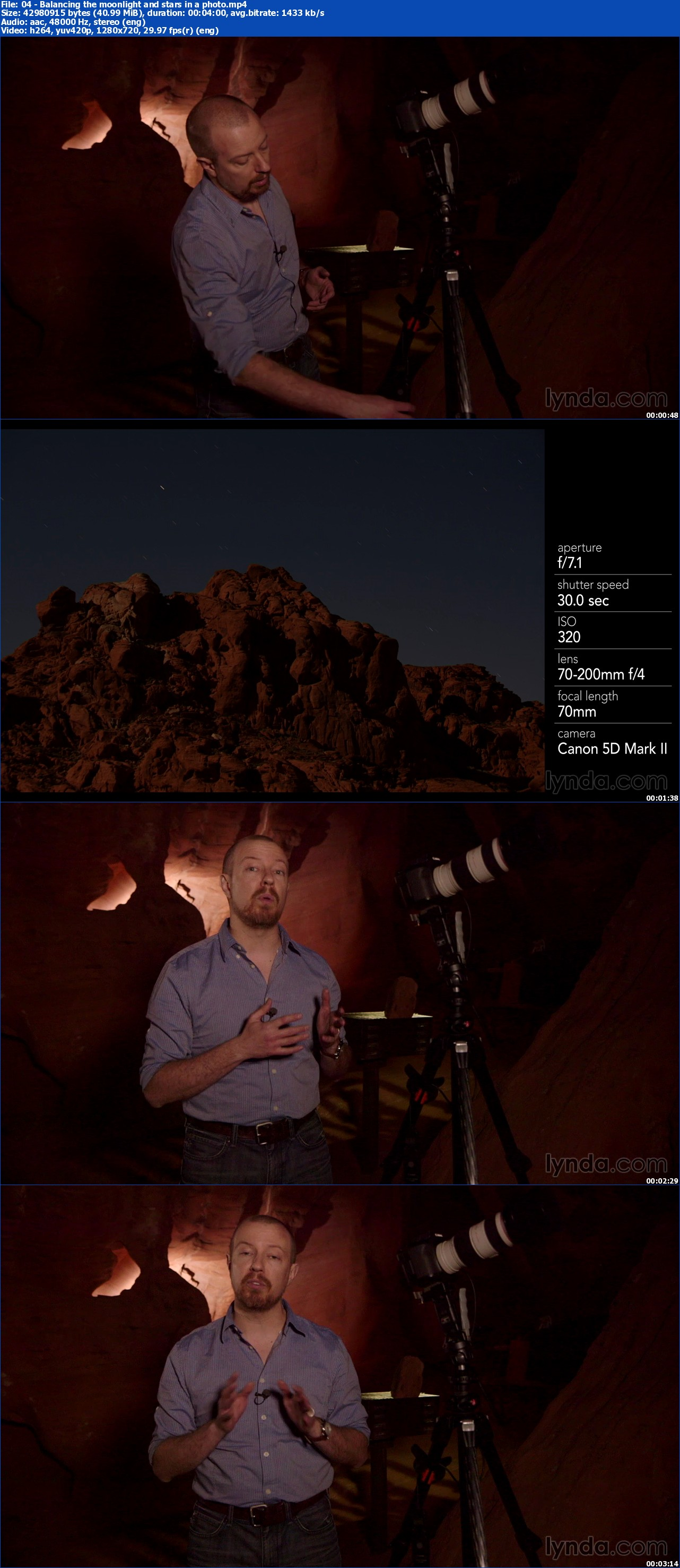 Lynda - Photography 101: Shooting in Low Light