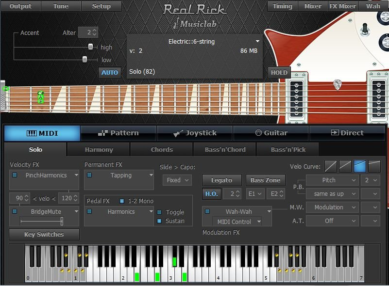 MusicLab RealRick v1.0.0 WiN MacOSX