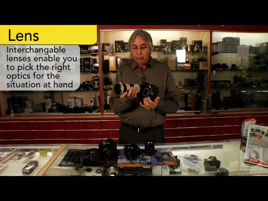 Digital Photography Principles: The Camera