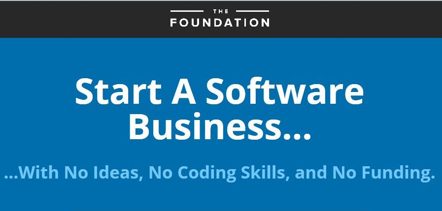 Start A Software Business - The Foundation Course (2014)