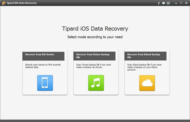 Tipard iOS Data Recovery 8.0.6 Multilingual