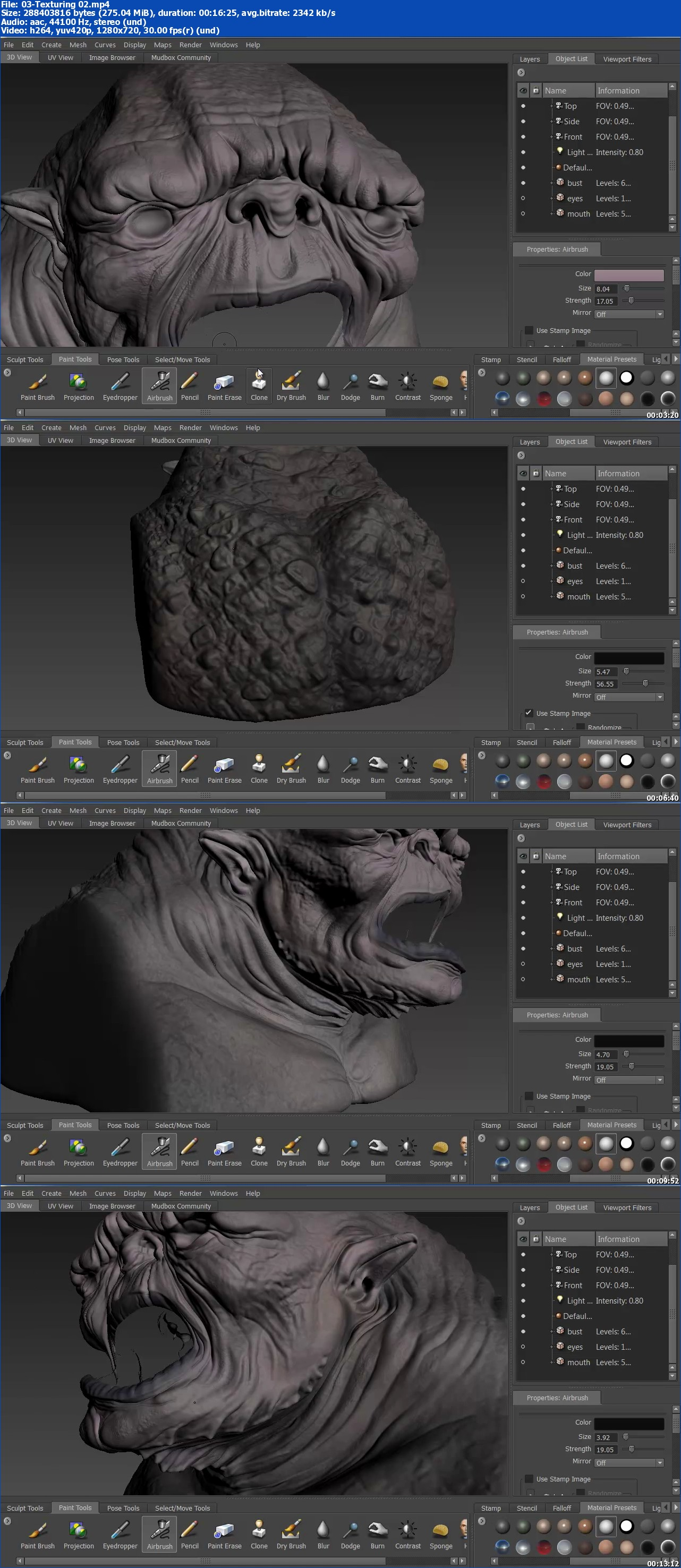 3DMotive - introduction to Mudbox Volume 3