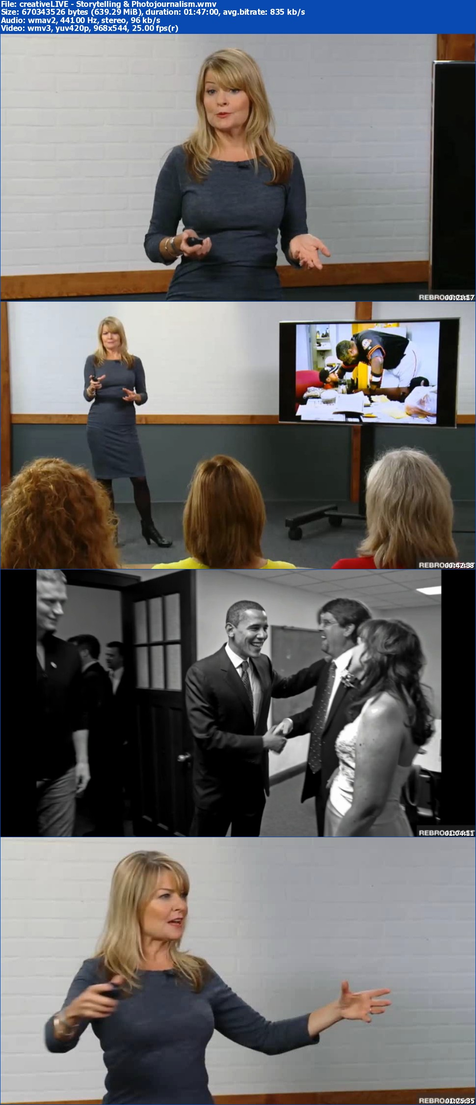 creativeLIVE - Storytelling & Photojournalism with Deanne Fitzmaurice