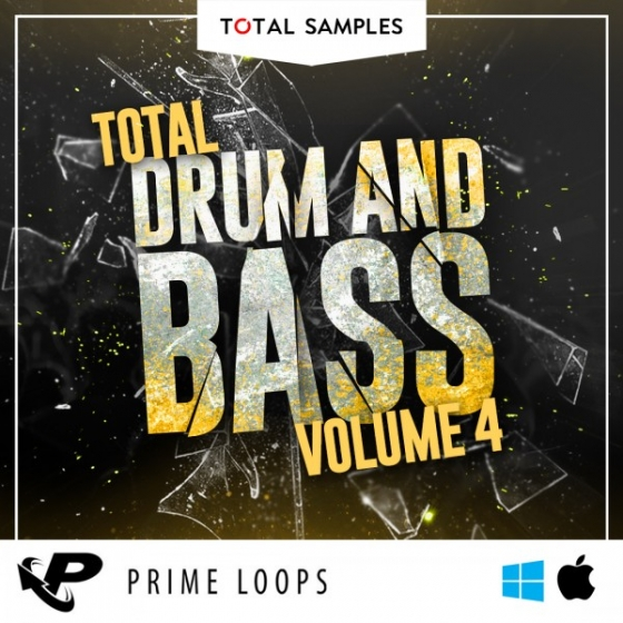 Total Samples Total Drum Bass Vol.4 MULTiFORMAT