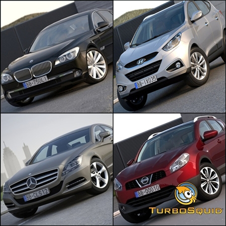 Turbosquid – Arkviz Car Model Collection