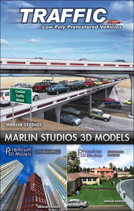 Marlin Studio Premium City Models Bundle