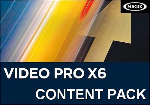 Content Pack for MAGIX Video Pro X6 13.0.5.9