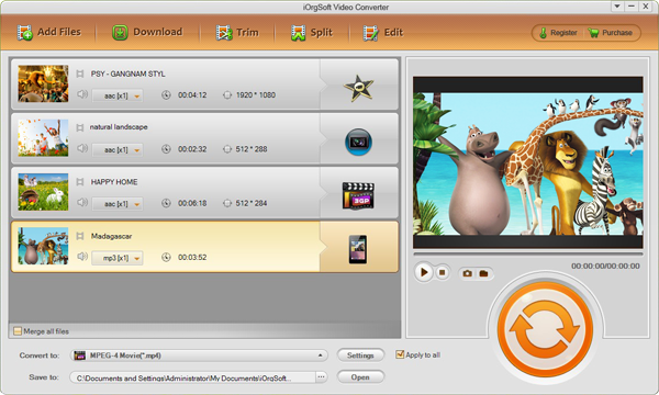 iOrgsoft Video Converter 5.3.5