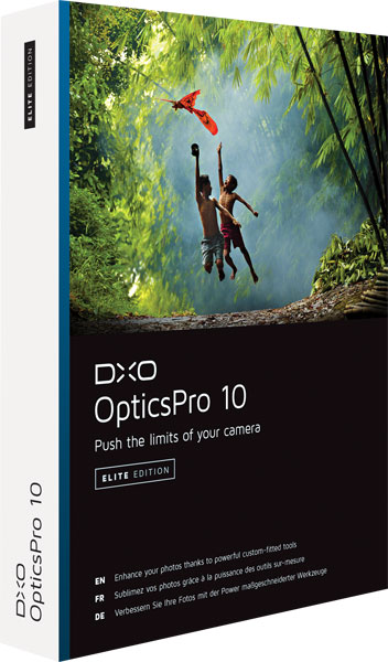 DxO OpticsPro v10 Elite Multilingual Mac OS X