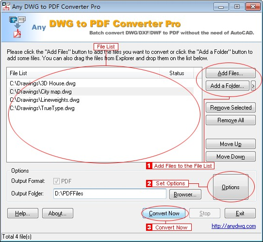 Any DWG to PDF Converter Pro 2013
