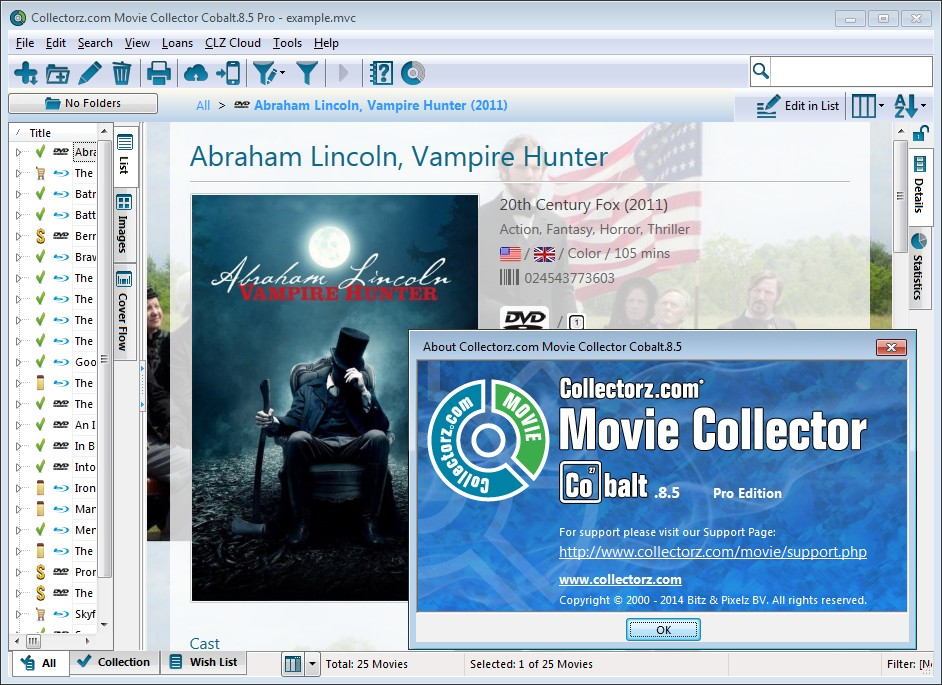 Collectorz.com Movie Collector Cobalt Pro 8.5