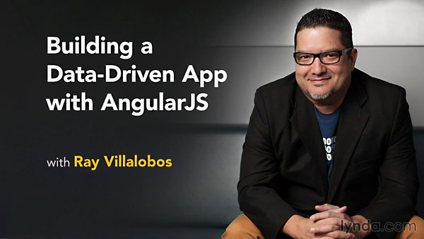 Lynda - Building a Data-Driven App with AngularJS