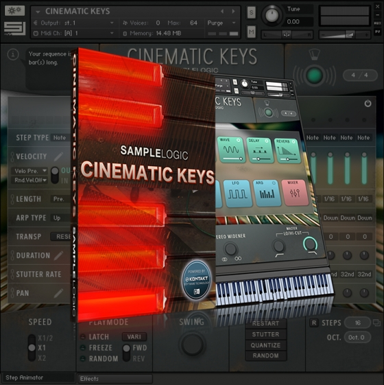 Sample Logic Cinematic Keys KONTAKT