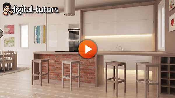 Dixxl Tuxxs - Creating a Kitchen Visualization in 3ds Max and V-Ray