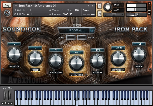 Soundiron Iron Pack 10 Tortue Amour KONTAKT