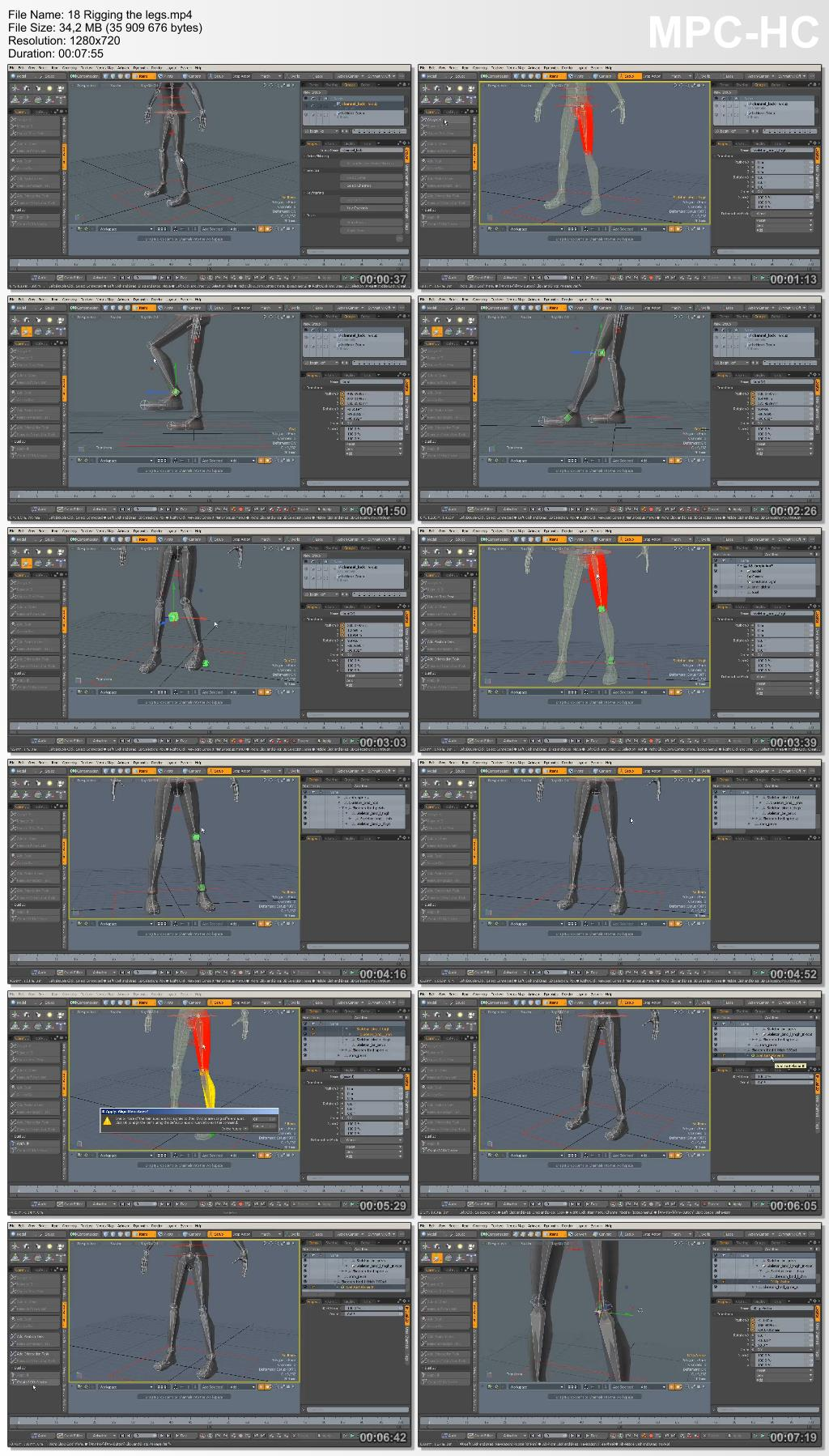 Dixxl Tuxxs - Rigging Your First Character in MODO