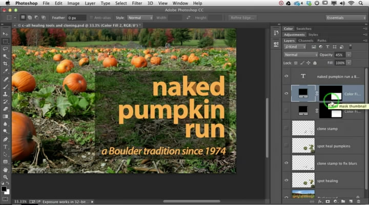 Photoshop: Content-Aware & Cloning
