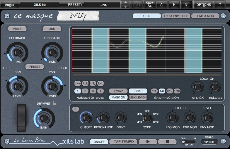 XILS-lab Le Masque Delay v1.0.0