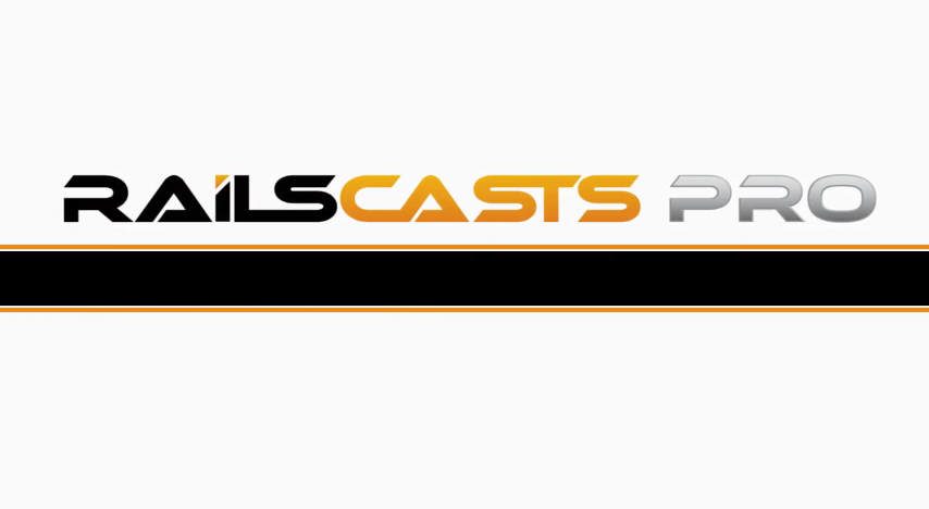 RailsCasts Pro Update (2013)