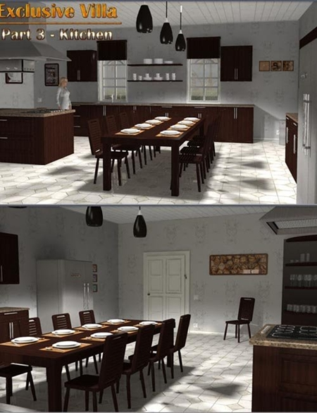 Exclusive Villa 3: Kitchen