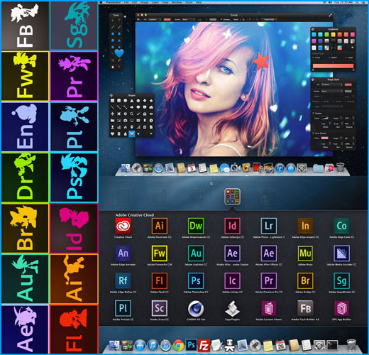 Adobe Creative Cloud Collection November 2014 For MacOSX