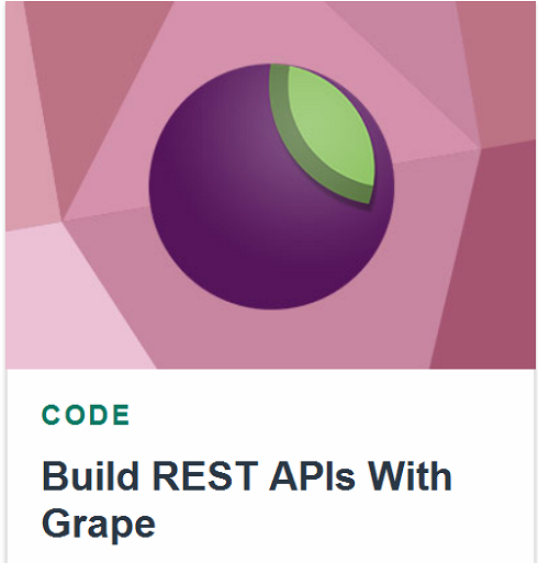Tutsplus – Build REST APIs With Grape