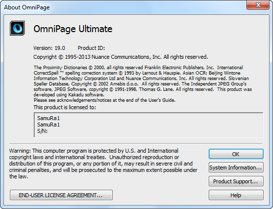 Nuance OmniPage Ultimate 19.0 Multilingual (ISO)