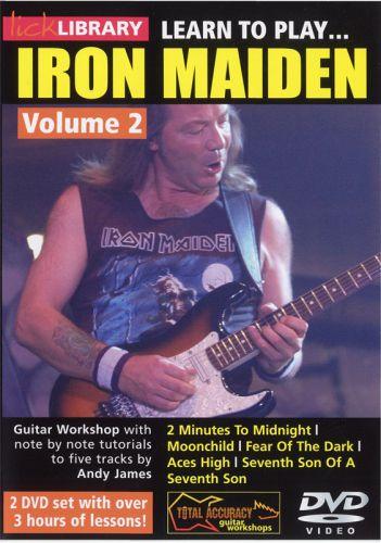 Learn To Play Iron Maiden - Volume 2