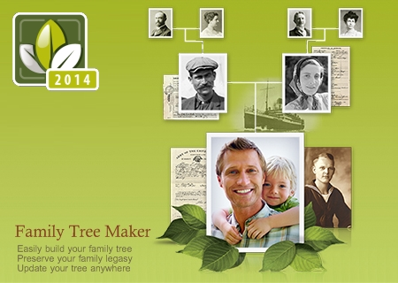 Family Tree Maker 2014 22.0.0.340 (x86) / 22.0.0.1340 (x64)