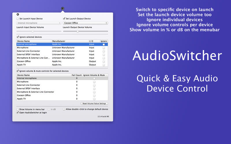 AudioSwitcher v2.24.5 Mac OS X