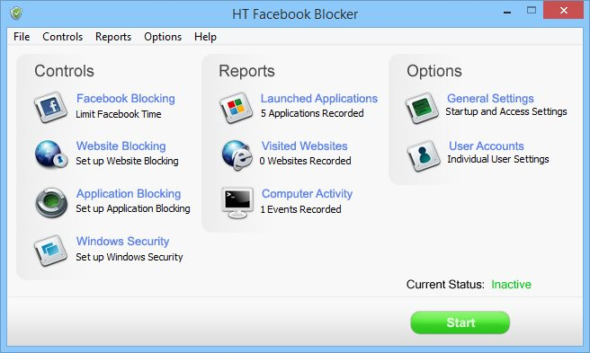HT Facebook Blocker 4.8.1.126