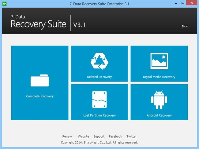 7-Data Recovery Suite Enterprise 3.1 Multilingual + Portable