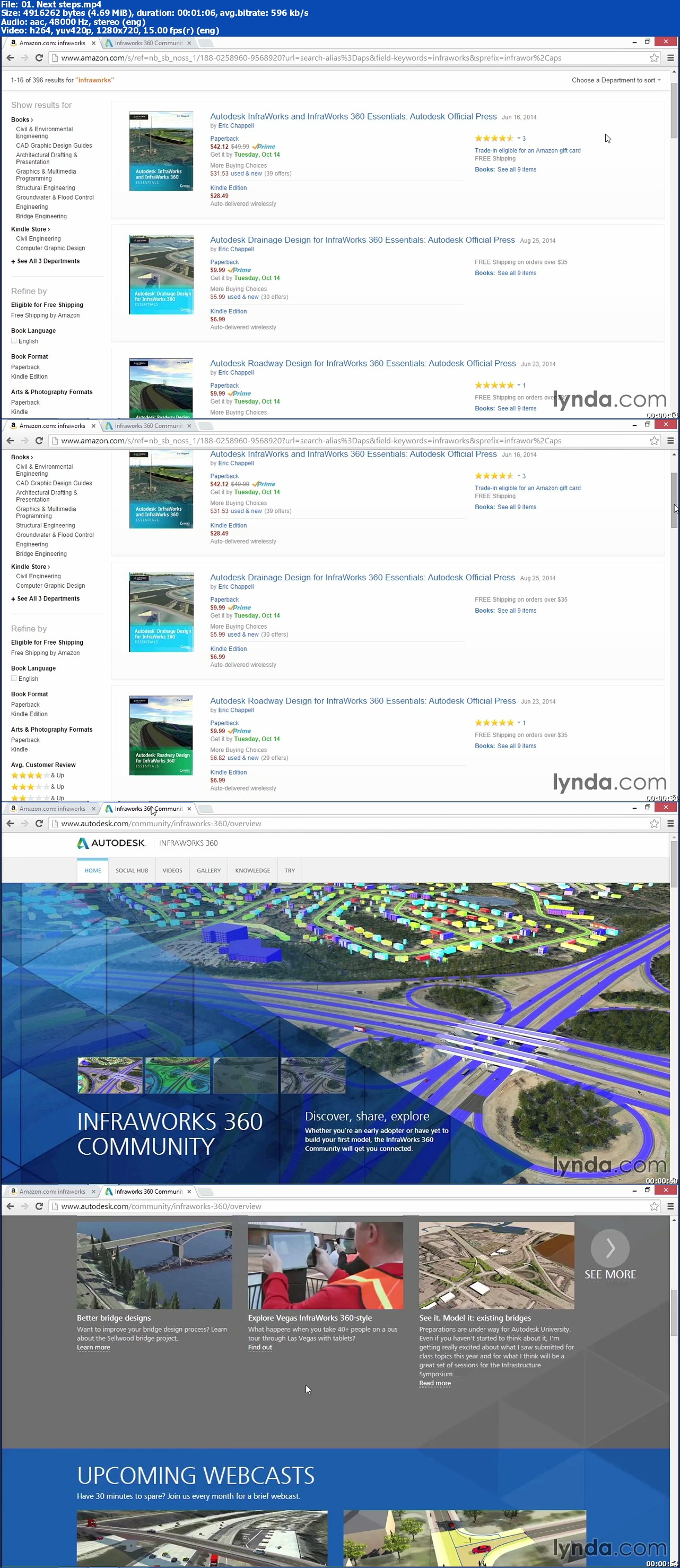 Lynda - Up and Running with InfraWorks
