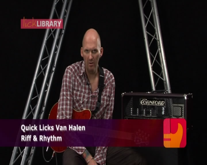 Guitar Quick Licks - Van Halen Style, Fast Rock Key of A