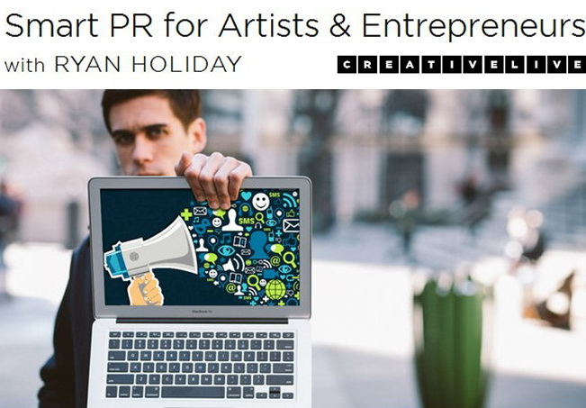 CreativeLive - Smart PR for Artists & Entrepreneurs