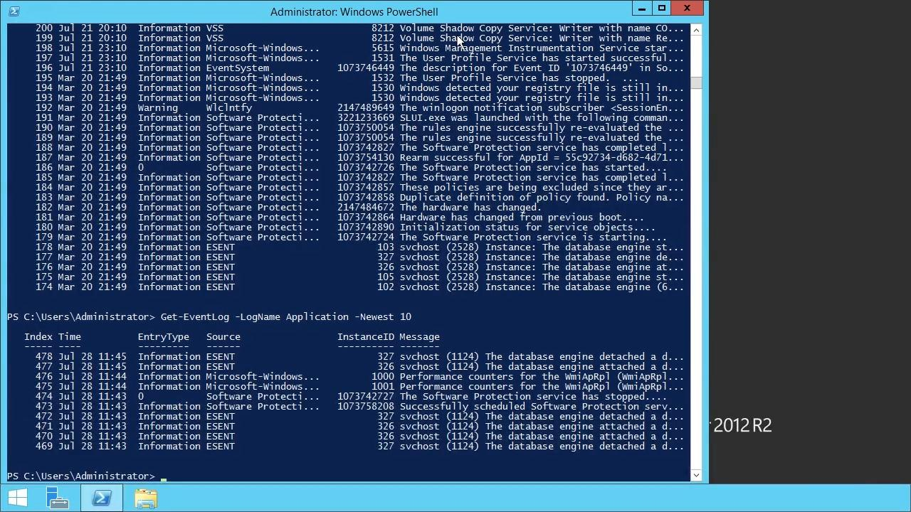 Windows PowerShell Fundamentals