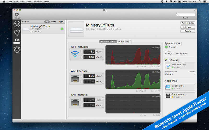 INet Network Toolbox v1.3.8 Mac OS X
