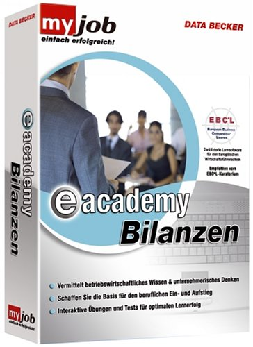 Data Becker e-academy Bilanzen