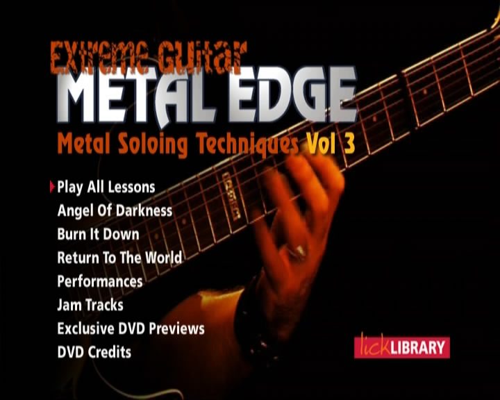 Metal Edge - Metal Soloing Techniques - Volume 3 [repost]