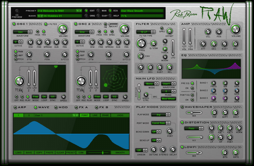 Rob Papen RAW v1.0.0 WiN