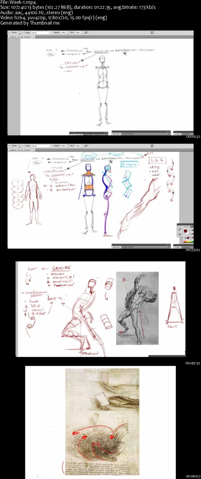 CGMA - Master Class: Analytical Figure Drawing 1[Repost]