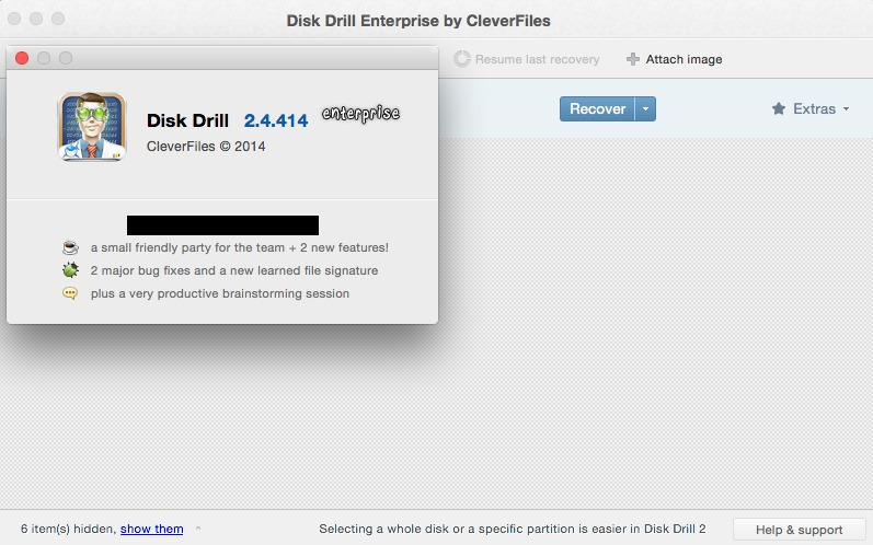 Disk Drill Entreprise 2.4.414 Multilangual Mac OS X