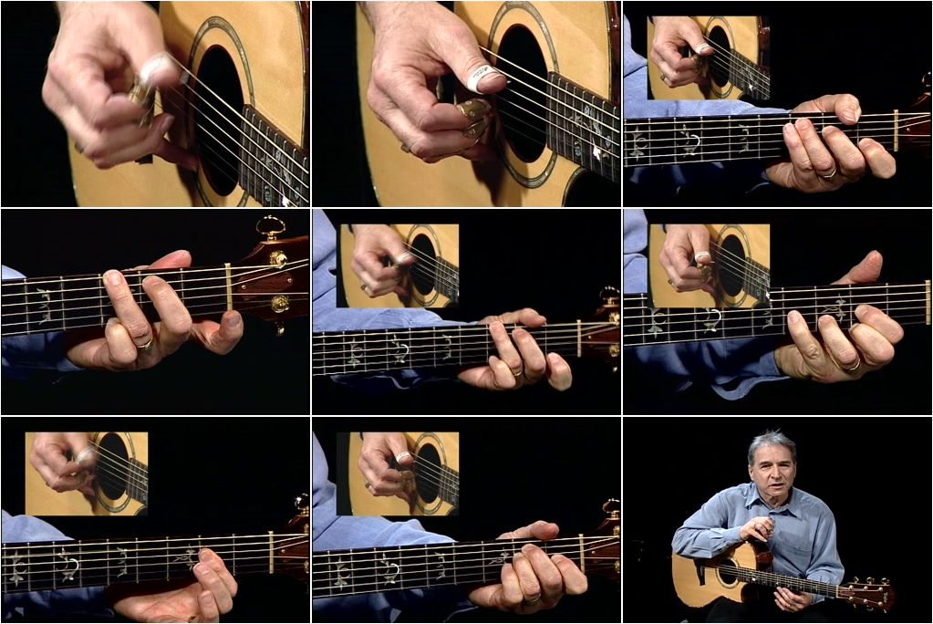 Homespun - Easy Steps to Guitar Fingerpicking [3 DVD Set]