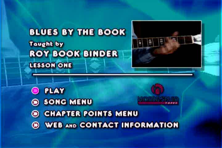 Blues By The Book - DVD 1