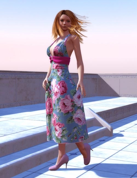 Sundress Textures for Jingle Bell Dress