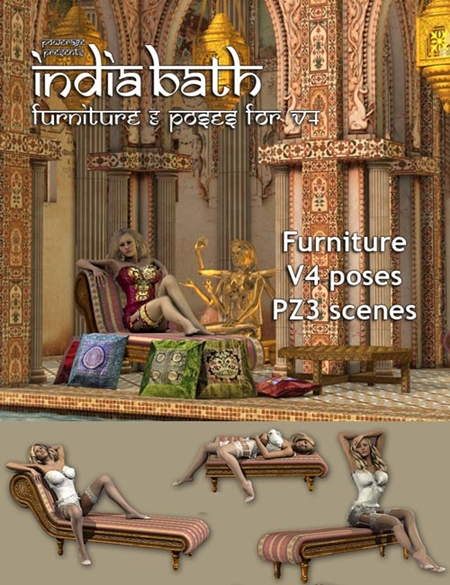 India Furniture & V4 poses