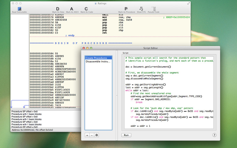 Hopper Disassembler v3.6.10 Mac OS X
