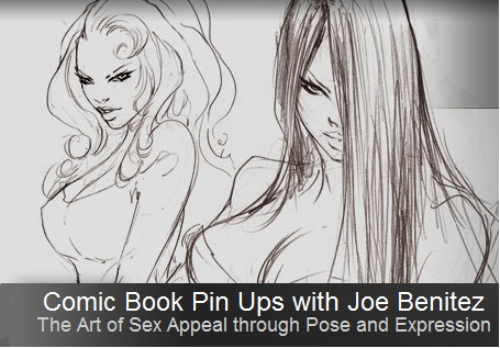 The Gnomon Workshop - Comic Book Pin Ups - The Art of Sex Appeal through Pose and Expression [Repost]